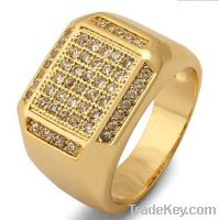 Sell offer wedding gift micro pave jewelry silver ring sterling silver