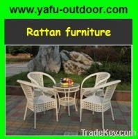 wicker furniture hot seller 5pcs/set