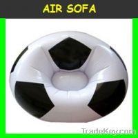 Football air sofa chair high quality