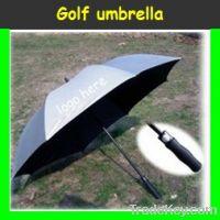 Auto open golf umbrella