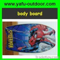 Body Board with carton print
