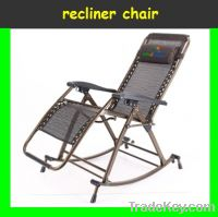 Recliner Chair w/ Pillow  with rocking foot