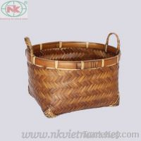 sell bamboo & rattan basket