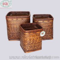 sell bamboo storage basket