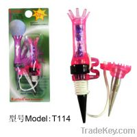 Sell Magnetic golf tee with a small aluminum tee T114