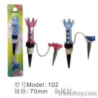 Sell T102 Magnetic Golf Tee Golf Metal Tee Manufacture Wholesale