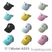 Sell A203 pure cotton golf hats\custom colorful golf hats \high quality gol