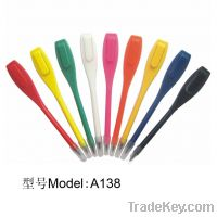 A138 Plastic scoring pencil, cheap golf scoring pencil, bulk scoring p