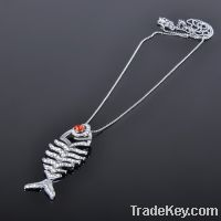 2013 Top Selling Fashion Fish Pendant Necklace