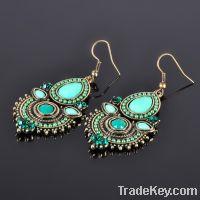 Rustic Tribal Earrings Bohemian Earrings