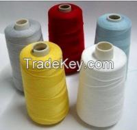 100% Spun Polyester sewing thread dyed