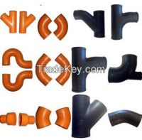 EN877 Cast Iron Pipe Fittings/ASTM A888 Cast Iron No Hub Pipe Fittings