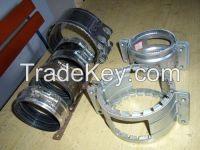 No Hub Couplings/Stainless Steel Clamps