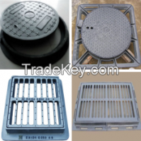 Cast Iron&Ductile Iron Manhole Covers/Gully Gratings/Trench Covers