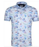 Blue flowers Polo shirts