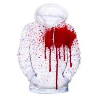 Horror Blood Halloween Hoodies Unisex Plus Size Cosplay Sweatshirts Wound Print 3d Streetwear Masculino Fancy Hoodies