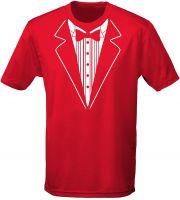 Tuxedo Fancy Dress Mens T-Shirt 10 Colours