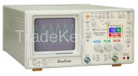 30 MHz Oscilloscope with Color LCD Digital Readout & Component Tester