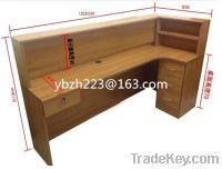 low price supply l-shape reception desk