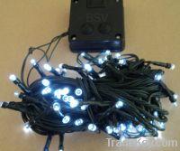 White Color LED Solar String Light