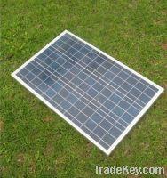 60W Polycrystalline Solar Module with high conversion efficiency