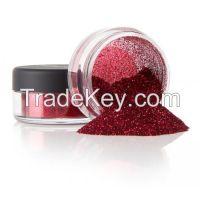 Fire Red Glitter