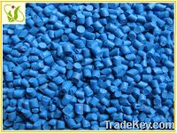 selling blue color masterbatch for plastic dyeing