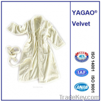 Shawl bathrobe