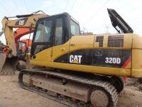 Sell used caterpillar 320D crawler excavator
