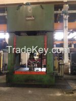 Hydraulic Press double columns brand OMB 300 tons