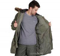 Sell Slim Fit Cotton N-3B Coat Mens slim fit winter coat Dust Coat