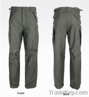 ALPHA INDUSTRIES M-65 M65 Stone Washed Pant Army Pants Outdoor Pants T