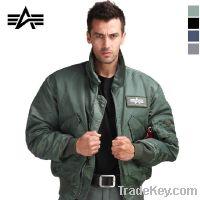 Alpha Industries CWU 45/P flight jacket Navy pilot jacket men jacket c