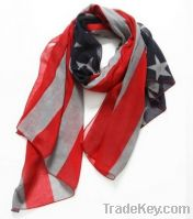 MiZiQi printed scarf