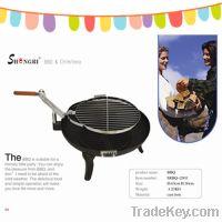 garden cast iron bbq grill