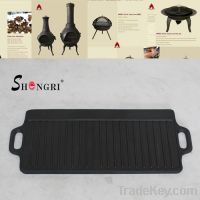 orea cast iron BBQ Grill pan