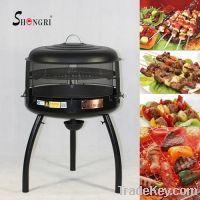 charcoal BBQ grill & Fire pit