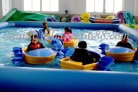 sell inflatable pool,power paddler boat,hand power boat