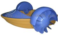Sell power paddler boat, amusement boat, inflatable castle,bouncer