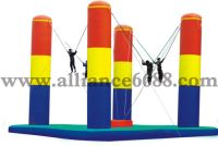 Sell four pillar bungee,inflatable sports,inflatables