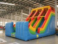 Sell double lane slide, inflatable slide, castle