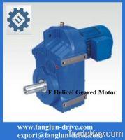 F series parallel shaft gearmotor