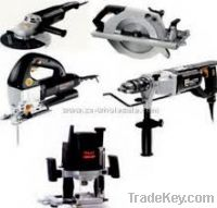 Power Tools - Drills, Cutters & Grinders