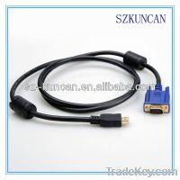 VGA cable to USB
