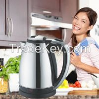 Fashion Design Colorful Daily Home Use Stainless Steel Electric Water Kettle