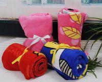 sell universal printed coral fleece blanket