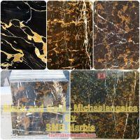 Sell Black and Gold Portoro - Pakistani black portoro