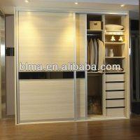 China new design sliding door wardrobe