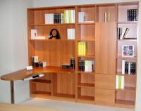 Professional cheap and simple design wooden bookcases manufacturer