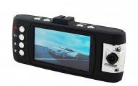 Dual Lens car camera with 8 IR LED+H.264